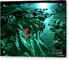 Copper Lake Acrylic Print by Oliver Betsch