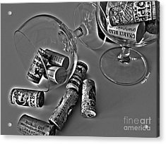 Corks 3 Acrylic Print by Cheryl Young