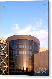 Corporate Architectural Design Acrylic Print by Yali Shi