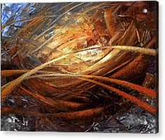 Cosmic Strings Acrylic Print by Arthur Braginsky