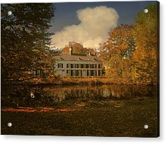 Country Estate Genbroek Acrylic Print by Nop Briex