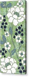 Country Spa Floral 1 Acrylic Print by Debbie DeWitt