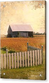 Countryside Life Acrylic Print by Sophie Vigneault