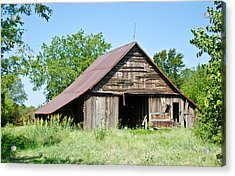 Cove Barn Acrylic Print by Lisa Moore