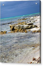 Cozumel Before Thunder Acrylic Print by Danielle  Parent