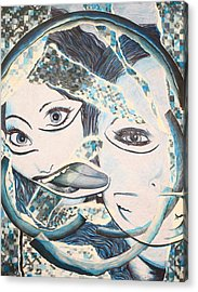 Crazy In Seattle Acrylic Print by Tamra Pfeifle Davisson