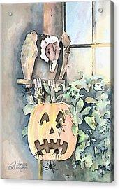 Creepy Crawlers Acrylic Print by Arline Wagner