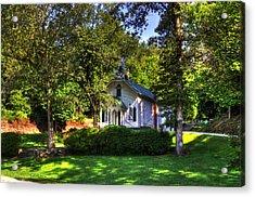 Crescent Hill Baptist Church Acrylic Print by Greg and Chrystal Mimbs