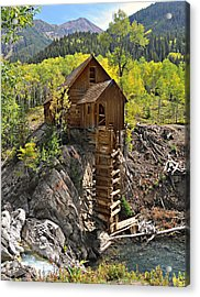 Crystal Mill 4 Acrylic Print by Marty Koch