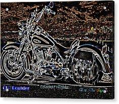Cu Boulder Colorado Nights Acrylic Print by Eric Dee