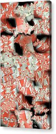 Cubicle Walls Acrylic Print by Ron Bissett