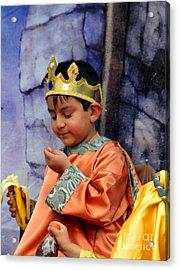 Cuenca Kids 40 Acrylic Print by Al Bourassa
