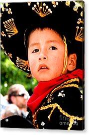 Cuenca Kids 64 Acrylic Print by Al Bourassa