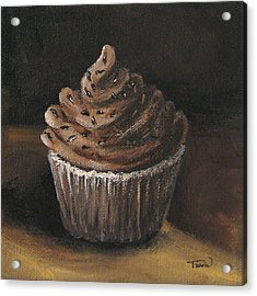 Cupcake 003 Acrylic Print by Torrie Smiley