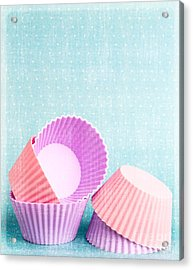 Cupcake Acrylic Print by Edward Fielding