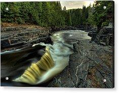 Current River Falls Acrylic Print by Jakub Sisak