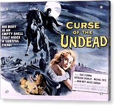 Curse Of The Undead, Kathleen Crowley Acrylic Print by Everett