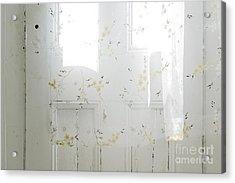 Curtain Acrylic Print by John Greim