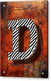 D Acrylic Print by Mauro Celotti
