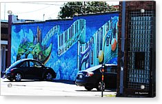 Dallas Street Art 4 Acrylic Print by DiDi Higginbotham