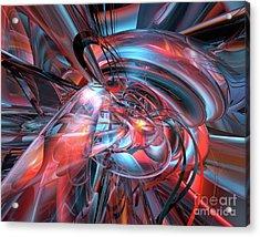 Dance Of The Glassmen Fx Acrylic Print by G Adam Orosco