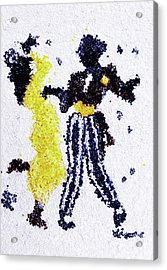 Dancing Couple Acrylic Print by Natalya A