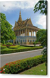 Dancing Pavilion Acrylic Print by David Freuthal