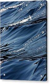 Dancing Waves Acrylic Print by Marie Jamieson