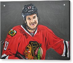 Daniel Carbomb Carcillo Acrylic Print by Brian Schuster