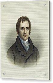Daniel D. Tompkins (1774-1825) Acrylic Print by Granger