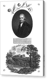 Daniel Rutherford, Scottish Chemist Acrylic Print by Science Source