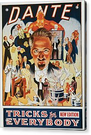 Dante Tricks For Everybody Acrylic Print by Unknown