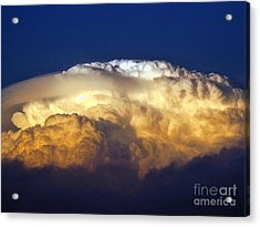Dark Clouds - 3 Acrylic Print by Graham Taylor