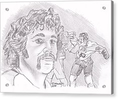 Dave Schultz- The Hammer Acrylic Print by Chris  DelVecchio