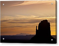 Dawn In The West Acrylic Print by Andrew Soundarajan