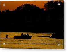 Day Of Fishing Is Over Acrylic Print by Karol Livote
