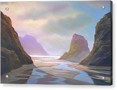 Day Of Reckoning Acrylic Print by Michael Cook