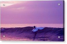 Daybreak At Rincon Acrylic Print by Ron Regalado