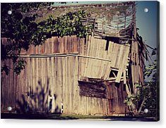 Days Gone By Acrylic Print by Paulette B Wright