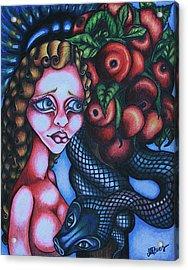 Death Acrylic Print by Maryska Torresowa