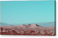 Death Valley Dunes 2 Acrylic Print by Naxart Studio