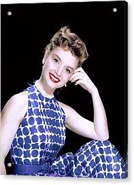 Debbie Reynolds, C. 1950s Acrylic Print by Everett