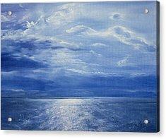 Deep Blue Sea Acrylic Print by Antonia Myatt