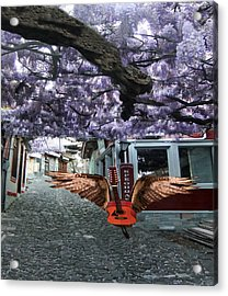 Deep Purple Acrylic Print by Eric Kempson