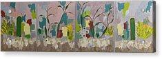 Desert Pastoral Acrylic Print by Frederick Fulmer