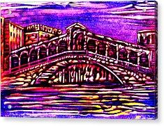 Destination Acrylic Print by Giuliano Cavallo