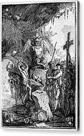 Destruction Of Idols, C1750 Acrylic Print by Granger