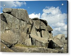 Devil's Den Formation 42 Acrylic Print by Paul W Faust -  Impressions of Light