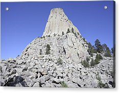 Devils Tower National Monument, Wyoming Acrylic Print by Richard Roscoe