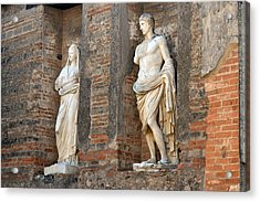 Diana And Apollo. Acrylic Print by Terence Davis
